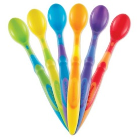 Munchkin Soft Tip Infant spoons, £2.99, various retailers